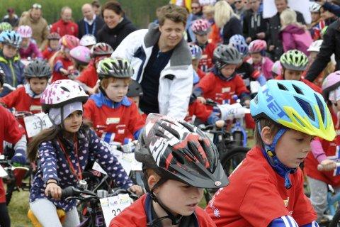Det blir Tour of Norway for kids på Sundvollen og Eggemoen. Her fra fjorårets ritt.