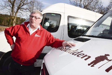 Flybussen: Rolf Lie har bestemt seg for å redusere fra 12 til 10 daglige avganger for flybussen til Gardermoen.