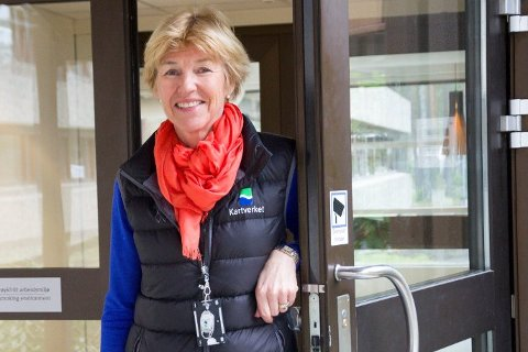 Kartverkssjef Anne Cathrine Frøstrup mekler i NRK-oppgjøret.