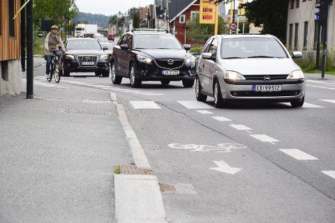 SYKKELBY?: Vibeke Andvik har sett seg lei syklister som ikke tar hensyn til andre enn seg selv. Bildet er kun ment som en illustrasjon til saken, da det er tatt ved en tidligere anledning.