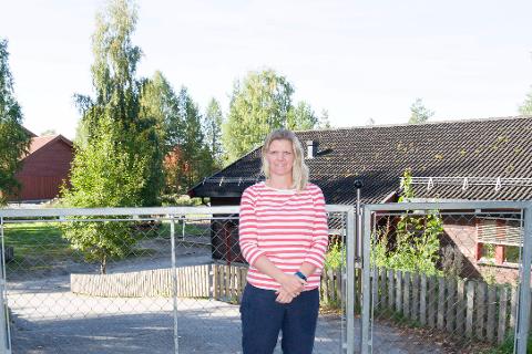 Småbarnsmor Britt-Karin Berg blir glad om hun slipper å betale for barnehage i fremtiden.