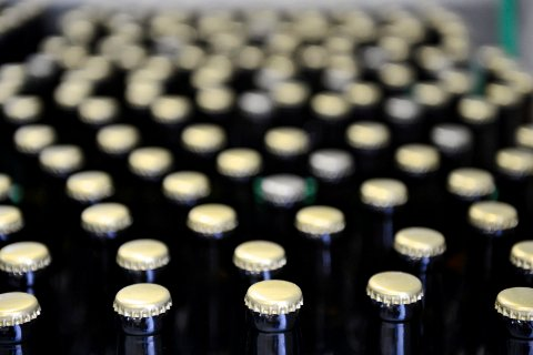 Nytappet øl i lange baner.