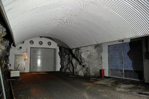 Ett av tilfluktsrommet til Sivilforsvaret.