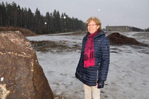 FULL STØTTE: Utviklingsdirektør i Tronrud Eiendom, Ellen Grønlund, fikk full støtte for biletablering.