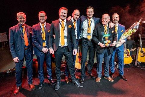 Ulf Rinnan, Tore Tveit, Håvard Iselvmo, Asbjørn Koller, Hans Olav Hole, Ivar Enger og Bent Western.