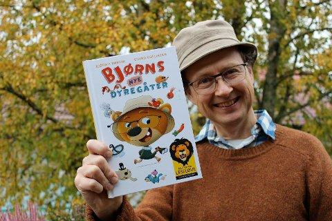 Barnebokforfatter Bjørn F. Rørvik har i disse dager sluppet en ny gåtebok. Nå er han også nominert til Alma-prisen for sitt forfatterskap, verdens største pris for barne- og ungdomsbøker.