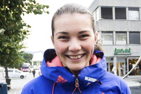 Har håpet: Silje Opseth har håpet at også jentene skal få være med i en hoppturnering. Hun liker at renndirektøren internasjonalt åpner for å inkludere dem i løpet av noen år.