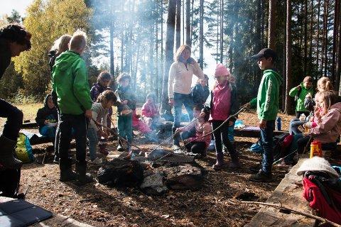 Høstferie: 29 barn tar høst ferie hos SFO sitt høstferietilbud.