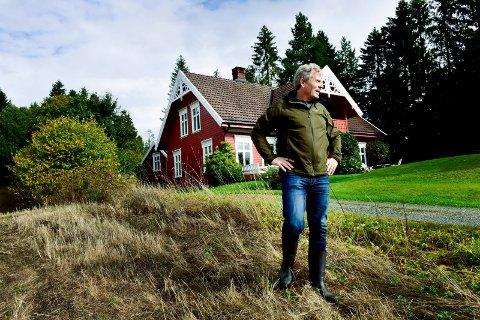 Arne Nævra hjemme i Lier dagen etter stortingsvalget 2017 hvor han ble valgt inn som representant for SV fra Buskerud.