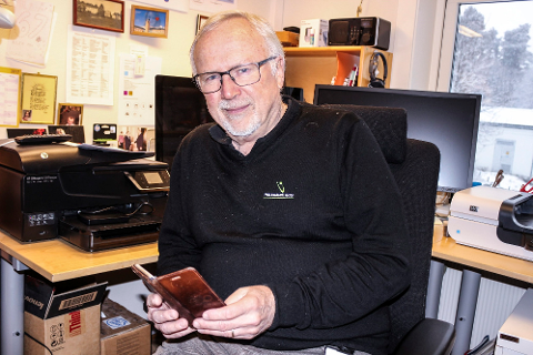 ADVARER MOT KLP: – Ikke meld deg inn i KLP. Sett heller pengene på sparekonto i banken, anbefaler Helge Haavik.