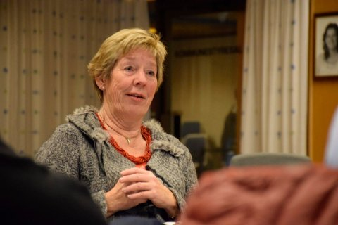 SKEPTISK: Rådmann May-Britt Nordli går imot søknaden fra Kolonial.no. I Ringerike og Hole er det også skepsis til alkoholsalg på nett.
