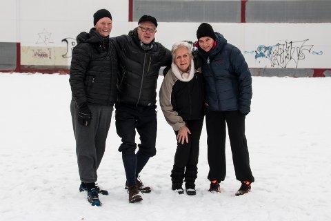 Friskuser: Gro Anita Karlsen, Hans Høyer, Anne Bergom og Mari Haakenrud Svendsen.