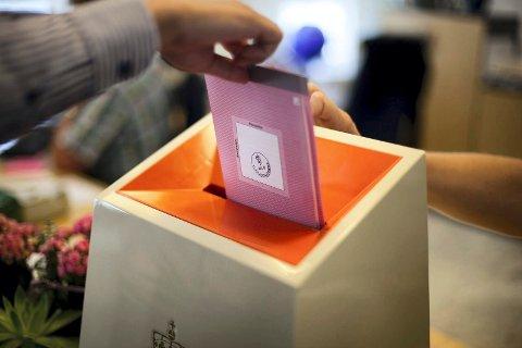 FLERE PARTIER: Velgerne får flere partier å velge i til høsten.