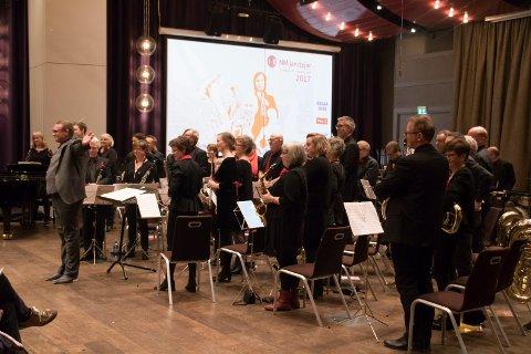 Hønefoss Ungdomskorps (HUK) vant 7. divisjon NM janitsjar i Trondheim i fjor.
