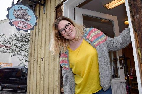 Nye lokaler: Marianne Storsveen og lekebutikken Bukkene Bruse har åpnet i Norderhovsgata.