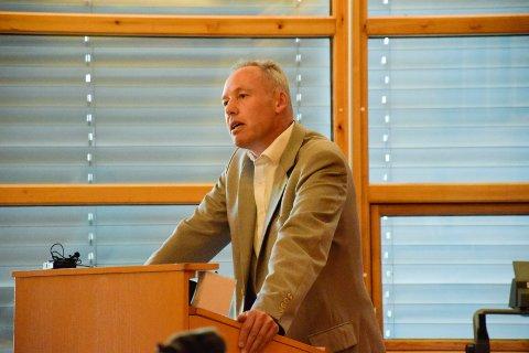 UT: Torbjørn Røberg har gått ut av Venstre.