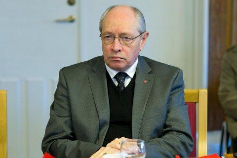 UVERDIG: Martin Kolberg (Ap) reagerer sterkt på kritikken som Eva Bekkelund-Eriksen framfører mot ham selv og mot Arbeiderpartiet.