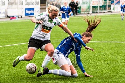 Silje Nyhagen var meget skuffet etter tapet hjemmo mot Sarpsborg 08