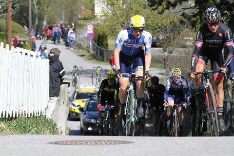 DET STØRSTE: Sondre Midtsveen fra Ringerike Sykkelklubb beskriver uttaket til U23-utgaven av Paris-Roubaix som det største han har opplevd.