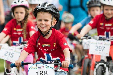 Tour of Norway for kids går av stabelen på Sundvolden hotel torsdag 10. mai.