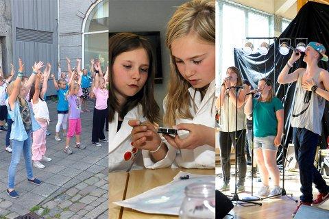 SOMMERSKOLE: Elever på mellomtrinnet i Ringerike vil få tilbud om gratis sommerskole i år. Bildet er en illustrasjon fra tidligere aktiviteter.