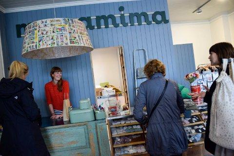Slo butikken konkurs: Gro-Helene Skalstad i Mapamima.