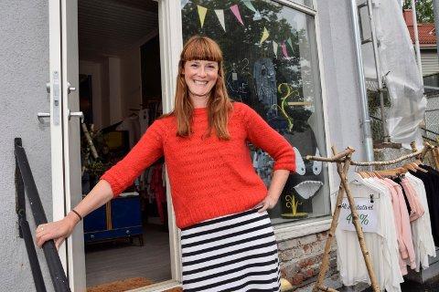 Nye Mapamima: Gro-Helene Eid Skalstad er glad for å kunne ta imot kunder i sine nye lokaler med mye historie.