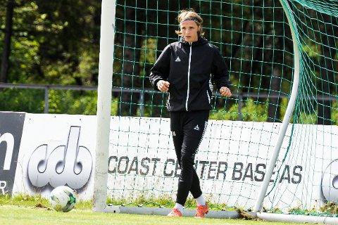 BLIR I HBK: Det blir ikke utlån for Sivert Øverby i høst. HBKs unggutt velger å bli i 2. divisjonsklubben.