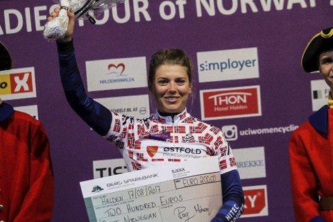 Thea Thorsen ble beste norske jente på prologen torsdag.