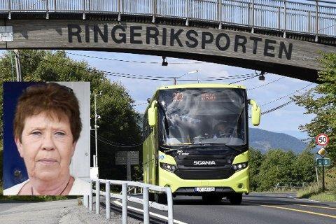 MISFORNØYD: – Hva med oss som ikke har buss i det hele tatt? spør Wenche Trønnes, etter at Brakar satte opp flere avganger.