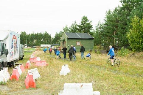 Skuffede deltakere måtte forlate Sykkelgledecupen, etter å ha blitt jaget vekk av Knut Ellefsen.