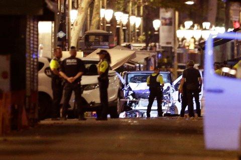 17. august kjørte en lastebil inn i folkemengden på Las Ramblas, hovedgaten i storbyen Barcelona. Terroren hadde rammet igjen.