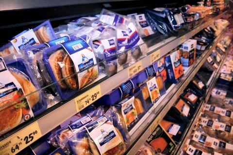 Nedgang: Prisene på matvarer har gått ned. (Illustrasjon)