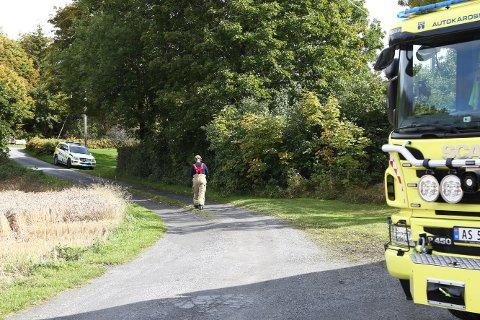 Kvinnen ble funnet av et helikopter, og tatt hånd om av ambulansepersonell.