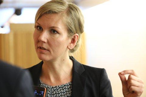 Marianne Marthinsen har vært finanspolitisk talskvinne for Ap den siste perioden. Ifølge VGs kilder vil Giske nå ta over denne posisjonen.
