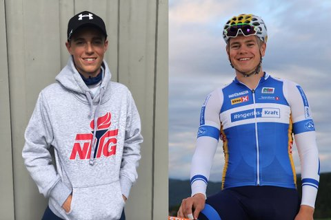 Disse gutta vil bli gode. Skikkelig gode. Kanskje får vi se Carl Sebastian (16) og Harald (18) i store mesterskap i framtiden?