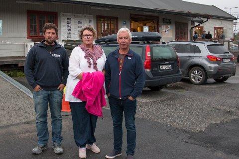 Eivind Flekstad, Linda Zetterdahl og Per Egil Eriksen vil miste sine hjem og føler stor usikkerhet.