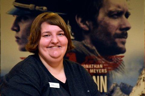 Norsk: - Ja, vi vil ha flere gode norske filmer på kino, sier assisterende kinosjef Katrine Wang Svendsen ved Hønefoss kino.