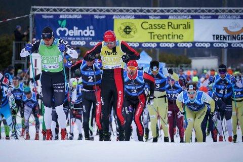 Tord Asle Gjerdalen gikk for sin fjerde strake Marcialonga-seier, men måtte gi tapt denne gangen.