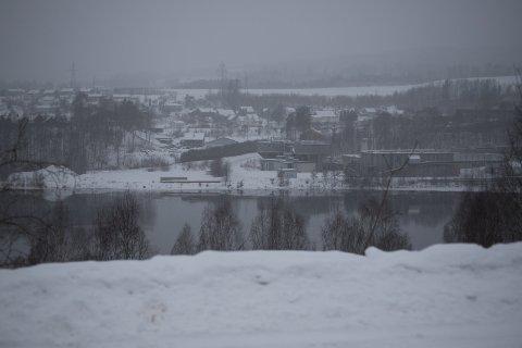 Utsikt: Ingen bygging i skråningen fra Rabba, kun skogpleie utført av grunneier Follum eiendom AS