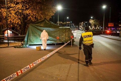 DØMT: Mannen som knivstakk en bekjent i Hønefoss i fjor, er dømt til fengsel i sju år.