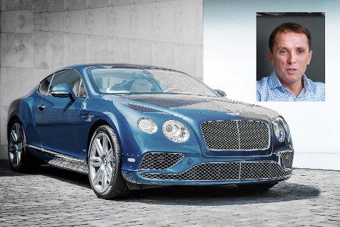 FANTASTISK: Nils Kjetil Tronrud synes at Bentley har fantastiske biler og han liker deres britiske tilnærming til kompromisser.