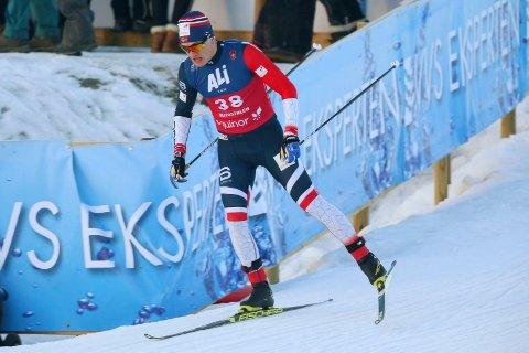 MÅ OVERBEVISE: Eirik Sverdrup Augdal fikk ikke toppresultatene på Beitostølen. Nå er han avhengige av å prestere på Gålå neste helg for å få gå verdenscup.