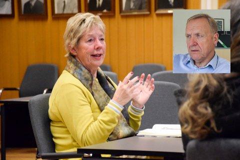 """PÅ """"KAMMERSET"""": Rådmann May-Britt Nordli fant grunn til å be ordfører Lars Magnussen om en samtale """"på kammerset""""."""