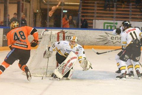 GOD: Keeper Johan Kallio spilte en god kamp.