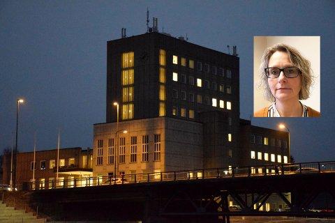 FRYKTER PRIVATISERING: Leder i Fagforbundet Ringerike, Bente Bråthen, mener at budsjettforslaget og Ap åpner for privatisering.