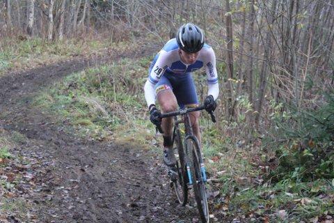 NM-BRONSE: Søren Wærenskjold fra Ringerike tok bronse i NM i sykkelcross.