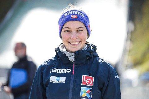 15: Silje Opseth ble nummer 15 i Sommer Grand Prix-avslutningen.