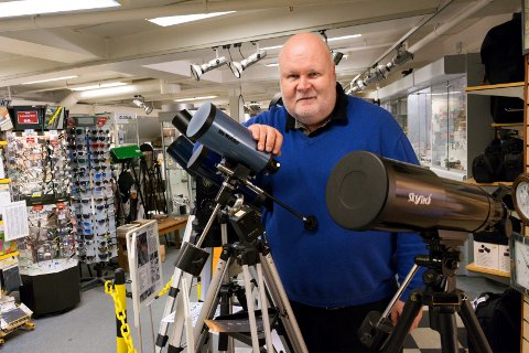 SISTEMANN UT: En epoke er over når Pål Lundstad nå forlater Ringerike stormarked etter 30 år. I snart to år har Chrono vært den eneste butikken der.