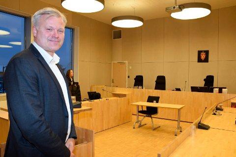 BISTO: Marius Reikerås holdt prosedyre på vegne av den tiltalte kvinnen.